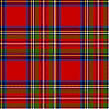 Scottish Plaid. Royal Stewart ...
