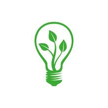 Light Bulb Plant Logo
