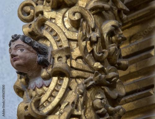 Fotografie, Obraz  Putto baroque à Arcos de Valdevez, Minho, Portugal