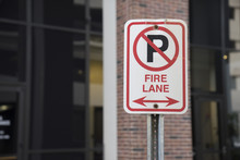 Fire Lane No Parking Sign Outs...
