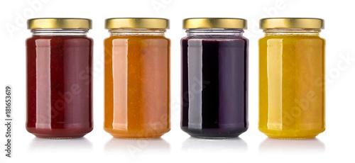 Jars of jam Canvas Print
