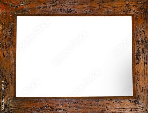 Fotografie, Obraz foto de un marco de madera