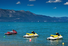 Jet Ski On The Lake