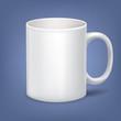 Vector cup, mug