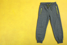 Sports Gray Pants