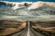 Straße zum Gletscher