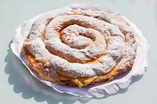 Ensaimada With Cream, Spiral S...