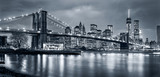Fototapeta Nowy Jork - Panorama  New York City at night