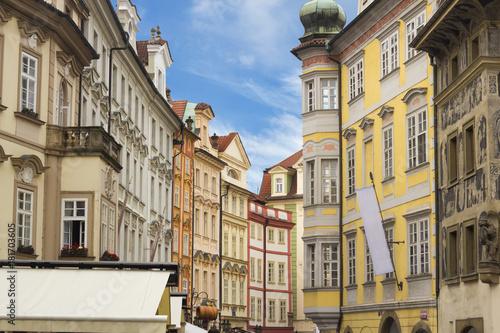 Photo  Street at the center of Prague