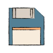 Floppy Diskette Icon