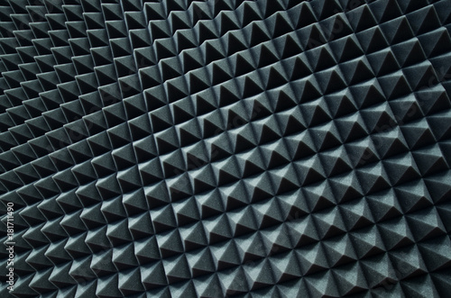 Valokuva Sound proof room background. Silence concept.