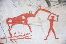 Prehistoric Rock Carving