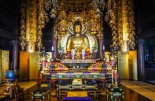 Golden Buddha In Chion-In Temp...