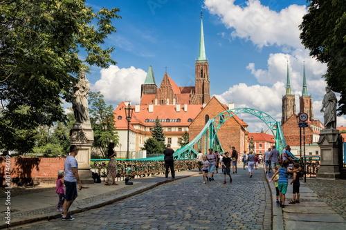 plakat Wroclaw, Dominsel