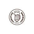 Creative brewery logo