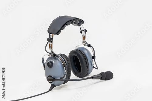 pilot headphones, Aviation headphones for pilots.