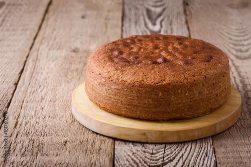 Fotografie, Tablou Homemade sponge cake
