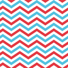 Seamless Chevron Pattern In Bl...