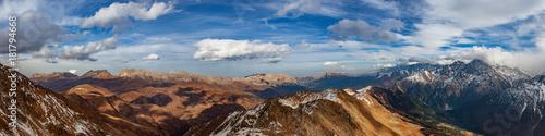 Панорама с Цейского хребта Fototapeta