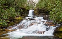 Waterfall In The Chattahoochee...