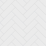Fototapeta Łazienka - White herringbone parquet seamless pattern. Classic endless floor decoration
