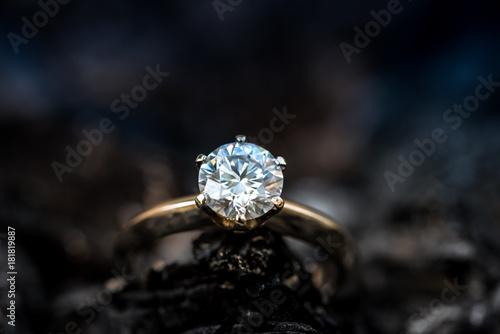 Ring with diamond Slika na platnu
