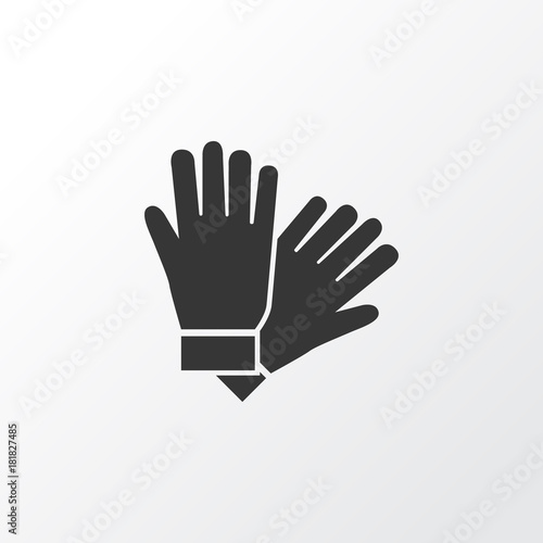 Fototapeta  Glove Icon Symbol
