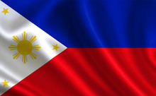 "Philippines Flag. A Series Of ""Flags Of The World."" (The Country - Philippines Flag)"