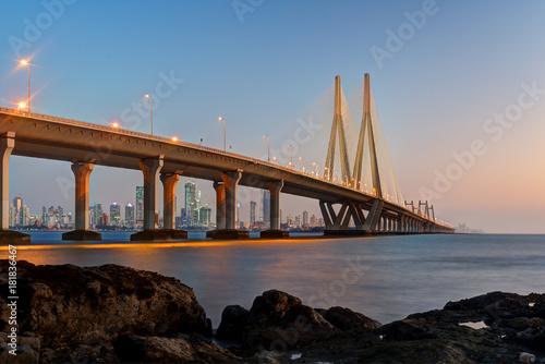 Photo Bandra Worli Sea Link Mumbai