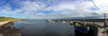 Harbour At Barna Pier