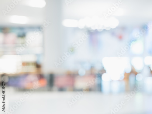 Photo  Abstract blur beautiful hospital and clinic interior for background