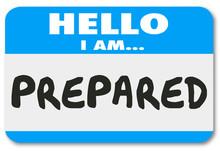 Prepared Hello Name Tag Ready ...
