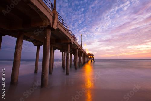 Plakat Sunset Huntington Beach