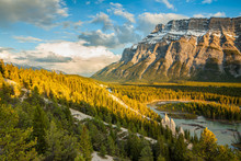 Mount Rundle And The Hoodoos I...