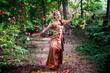 Leinwanddruck Bild - Thai Dancer in Traditional Costume