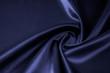 Texture, background, pattern. Fabric silk color cobalt, smalt, blue royal.