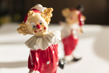 Porcelain Clowns, Colorful Clo...