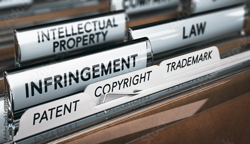 Photo Intellectual Property Rights, Copyright, Patent or Trademark Infringement