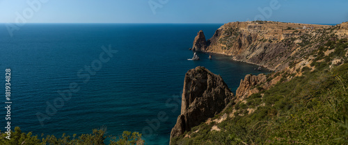 Foto op Plexiglas Kust Beauty nature sea landscape Crimea