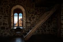 Inside Interior Room In Old Ca...