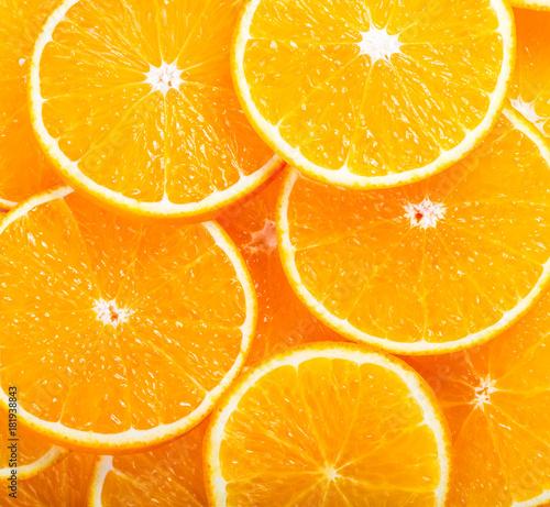 Foto op Aluminium Vruchten Orange fruit background
