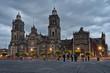 Cathedral on Zocalo , Mexico City, Mexico