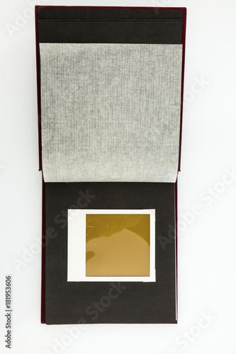 Fotografia, Obraz  Album vor weißem Hintergrund