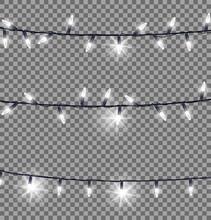 Strings Of Glowing Christmas L...
