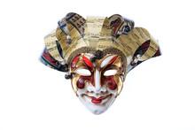 Harlequin Handmade Venetian Ma...
