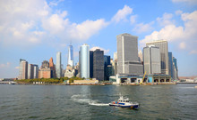 Lower Manhattan Skyline On A C...