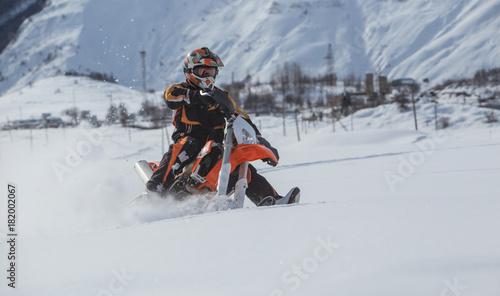Dirt Bike Snowmobile >> Enduro Snowbike Snowmobile Journey With Dirt Bike High In The