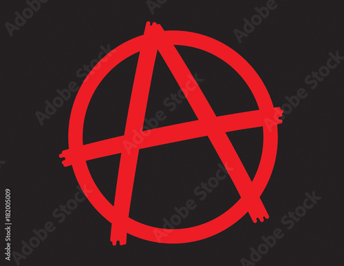 Anarchy Symbol Icon