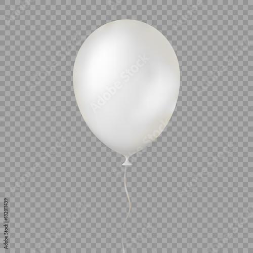 Fotografiet balloon isolated