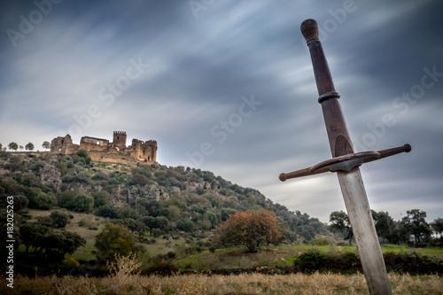 Fotografie, Obraz siege to the castle with swords